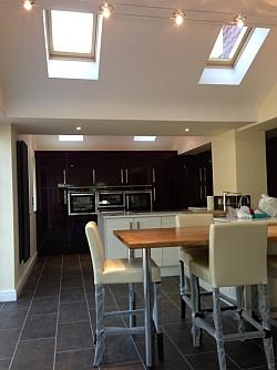 Kitchen design Four Oaks